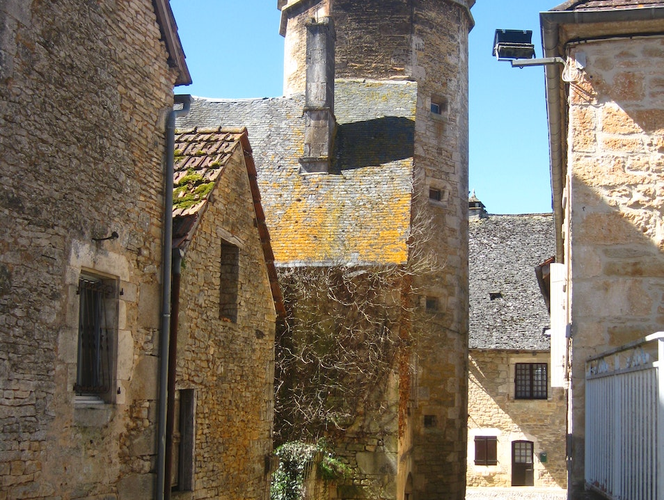 The ancient village of Nadaillac, Dordogne Nadaillac  France