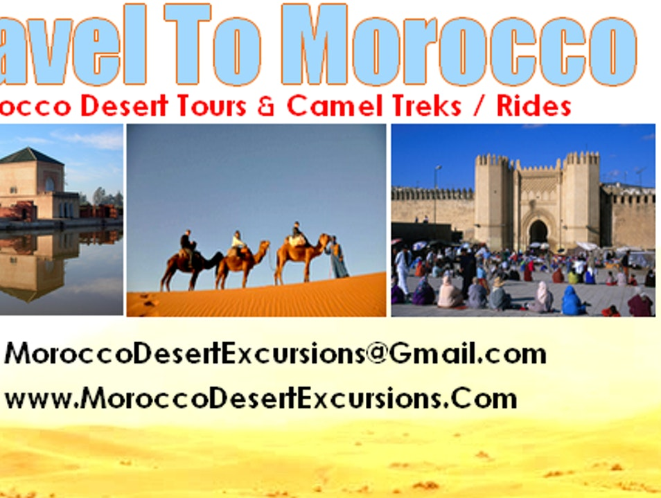 MOROCCO TOURS : 3 Days From Marrakech To Desert ( Merzouga ) Merzouga  Morocco