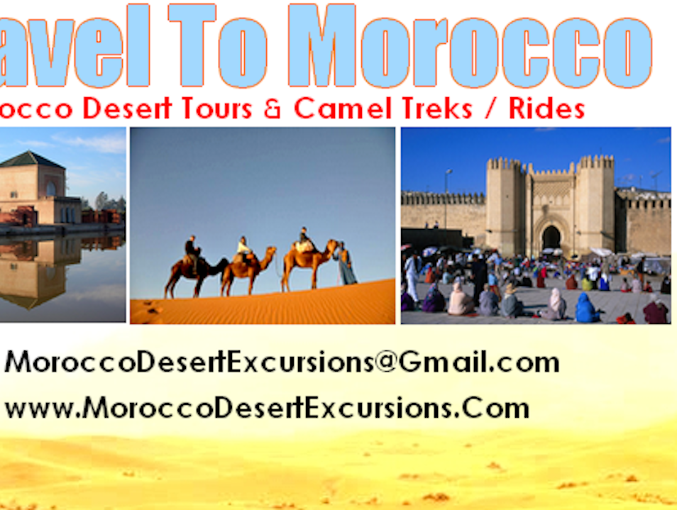 MOROCCO TOURS : 3 Days From Marrakech To Desert ( Merzouga )