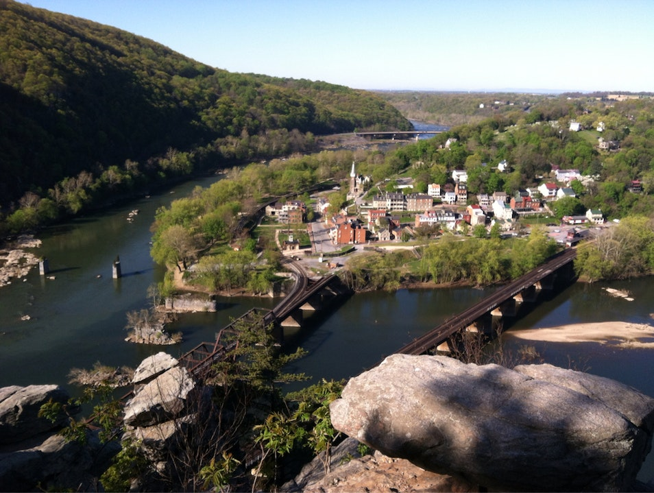 Harpers Ferry Overlook Harpers Ferry West Virginia United States
