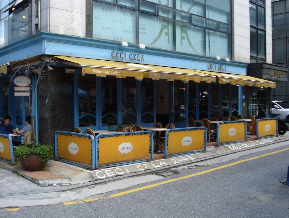 Ceci Cela: Brunch, European Style Seoul  South Korea