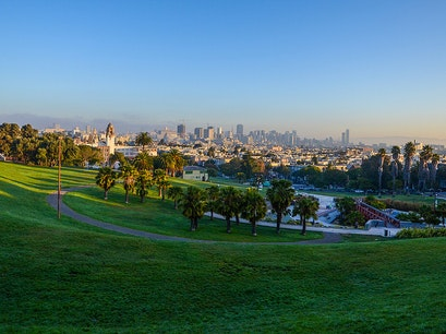 Mission Dolores Park San Francisco California United States