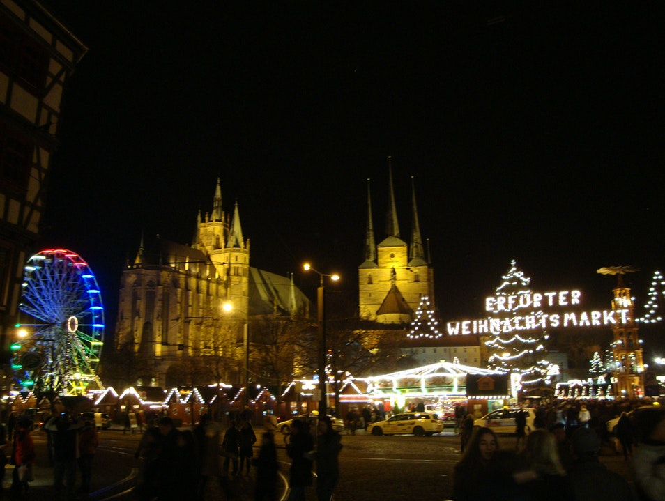 A gem among German Christmas markets Erfurt  Germany
