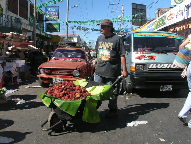 Market Day, San Salvador