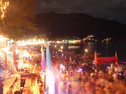 Full Moon Party Tambon Ko Pha Ngan  Thailand