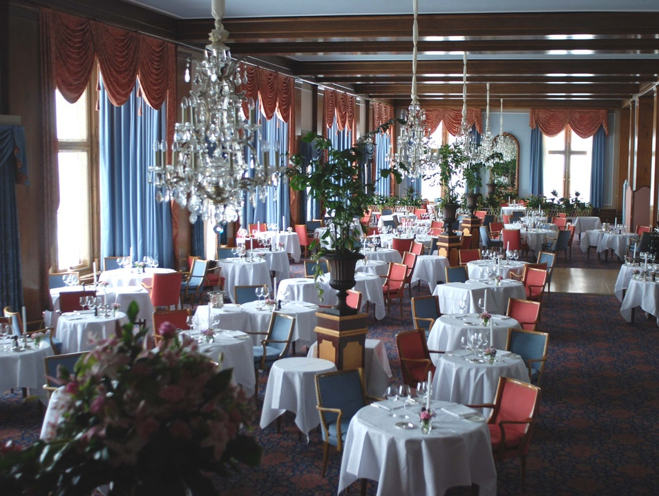 Gourmet dining just got better St. Moritz  Switzerland