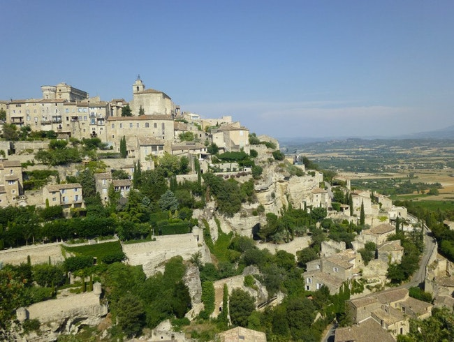 Scenic French Hill Towns