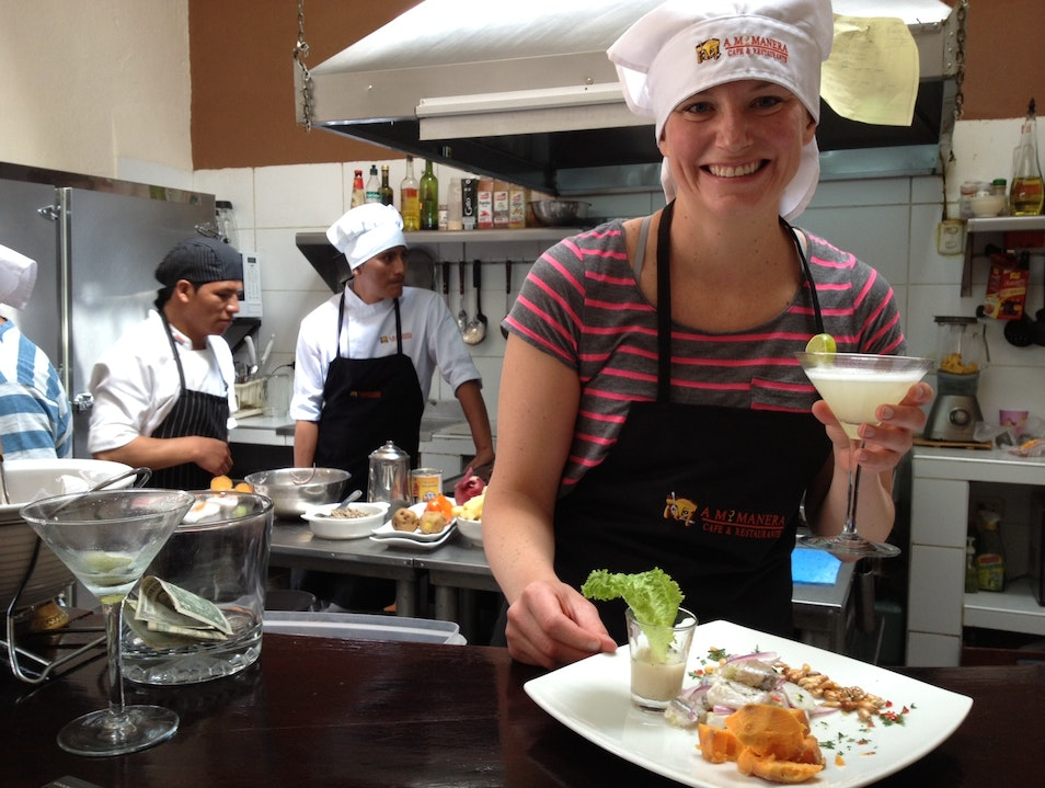 Learning to be a Master Peruvian Chef Cusco  Peru