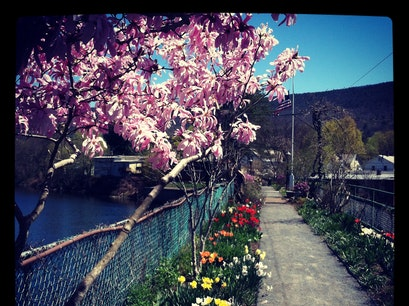 Bridge of Flowers Shelburne Falls Massachusetts United States