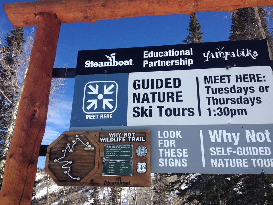 The Why Not Wildlife Trail Steamboat Springs Colorado United States