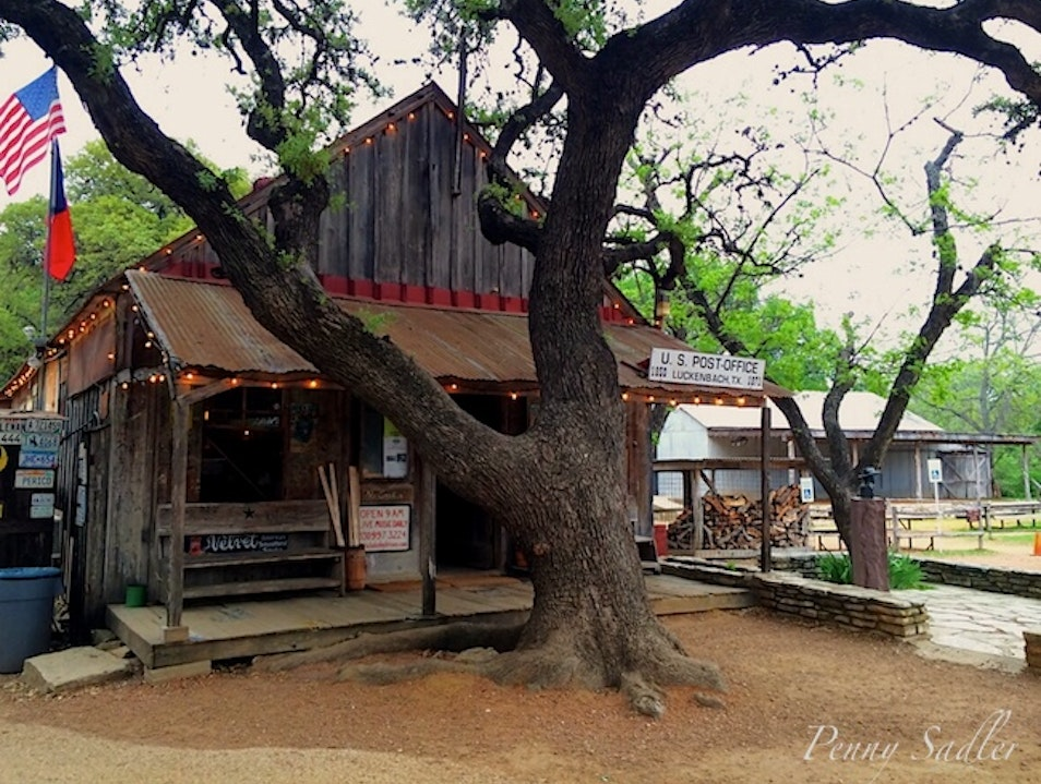 """Everybody's Somebody in Luckenbach"" Fredericksburg Texas United States"