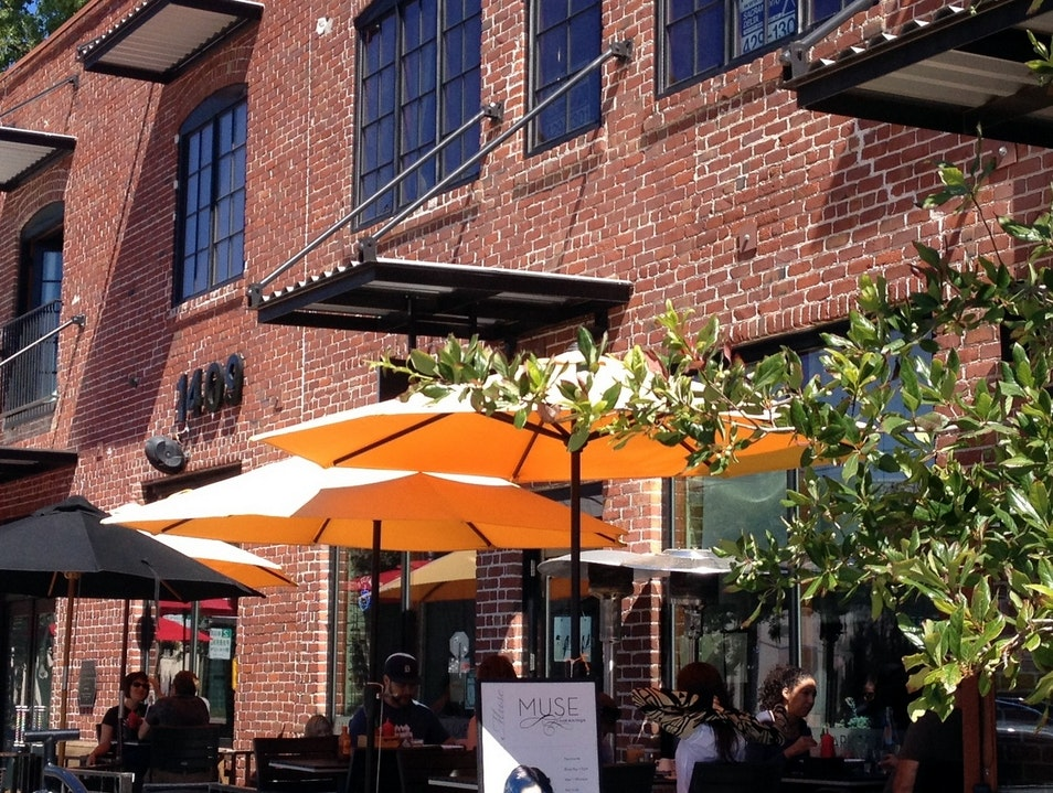 A Trendy Cafe and Local Eats in Sacramento