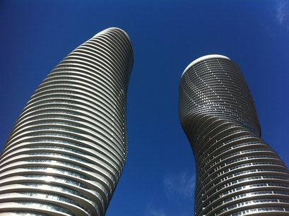 Marilyn Monroe Towers Mississauga  Canada