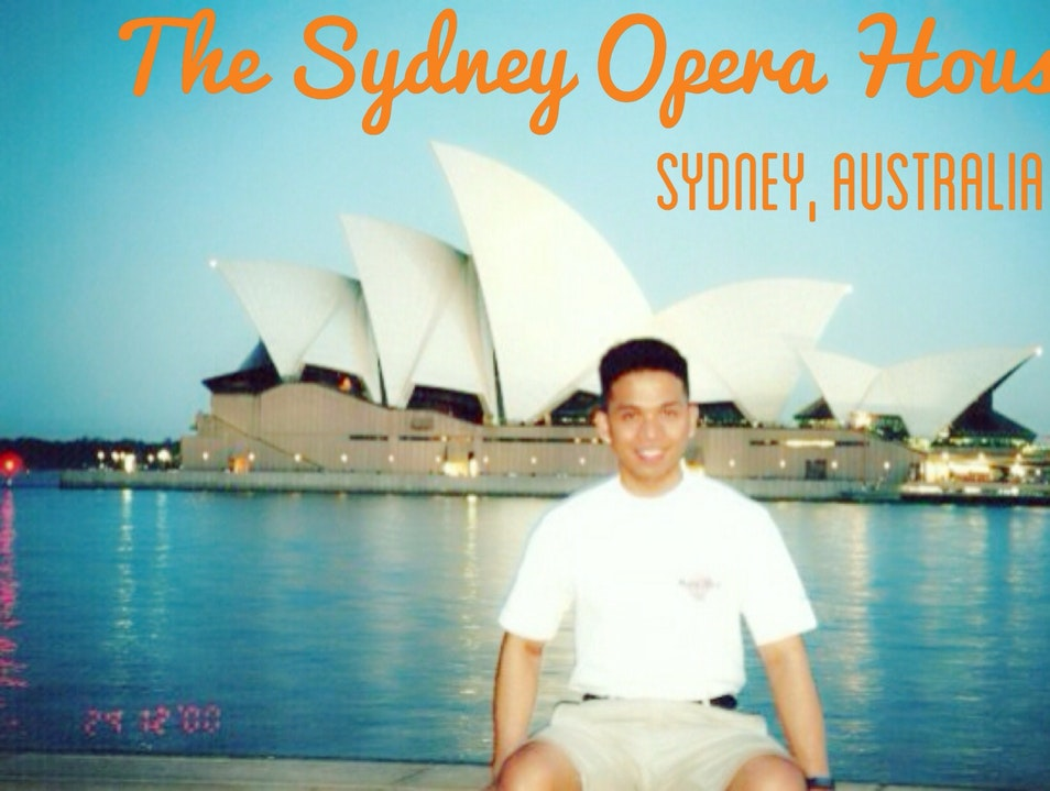 A Night Overlooking the Opera House