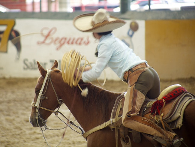 See a Real Mexican Rodeo
