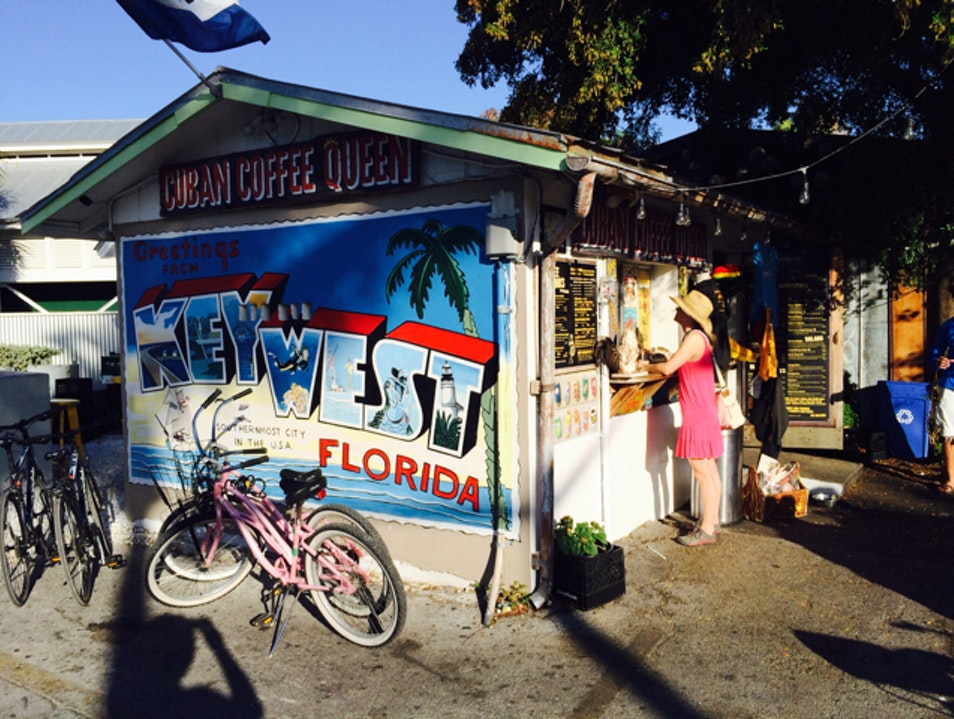 Nice iced coffee on a hot day Key West Florida United States