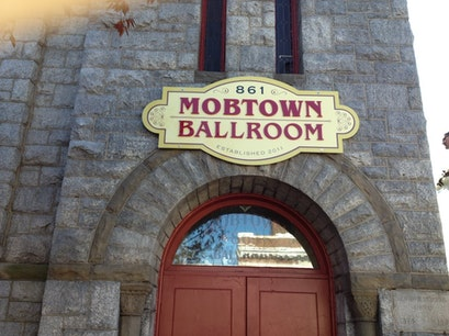 Mobtown Ballroom Baltimore Maryland United States