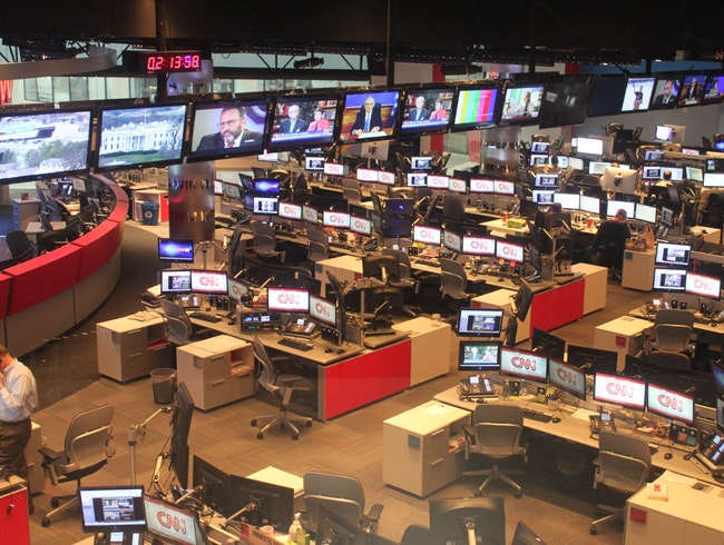 International Headquarters for a News Leader
