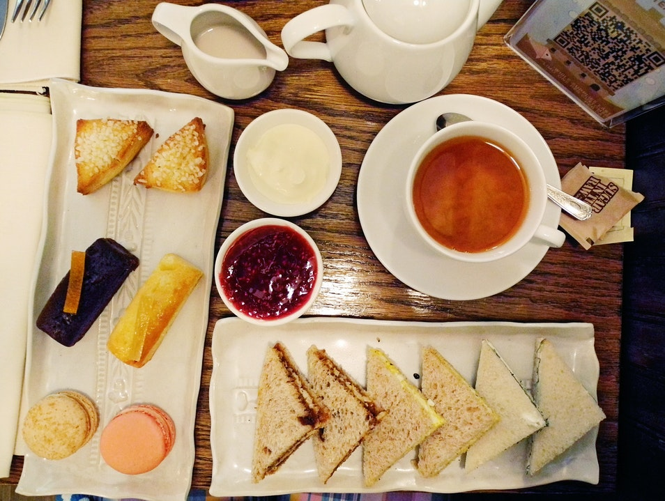 English Tea at Bosie in NYC New York New York United States
