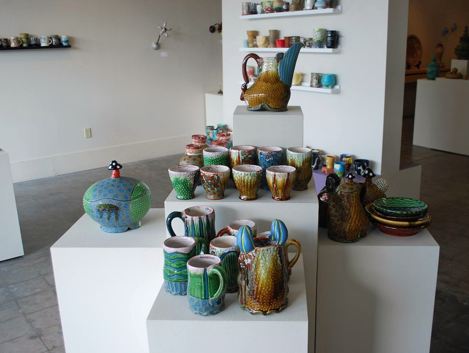 Peruse Local Ceramic Art at 18 Hands Gallery Houston Texas United States