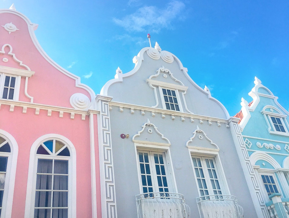 Art and Architecture in Downtown Oranjestad Oranjestad  Aruba
