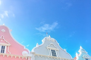Art and Architecture in Downtown Oranjestad