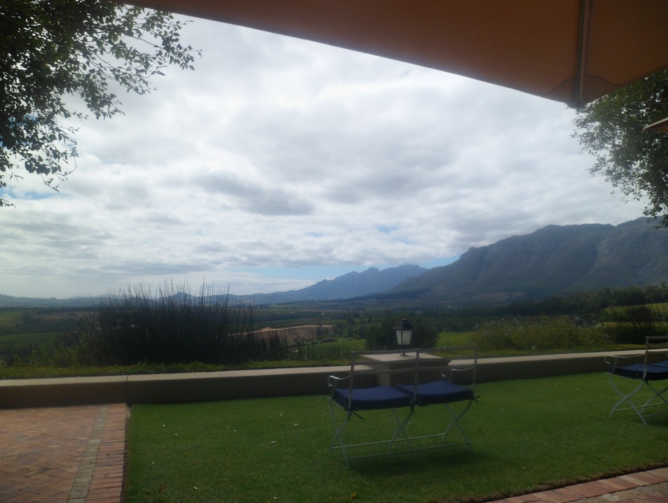 Wine touring in the Cape