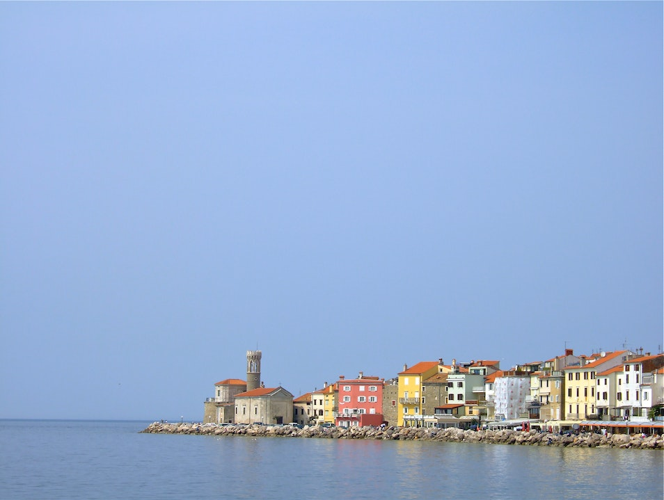 Escape from the Cold Piran  Slovenia