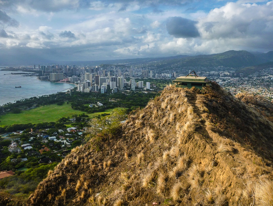 Climbing an Icon on Oahu