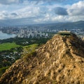 Diamond Head State Monument Honolulu Hawaii United States