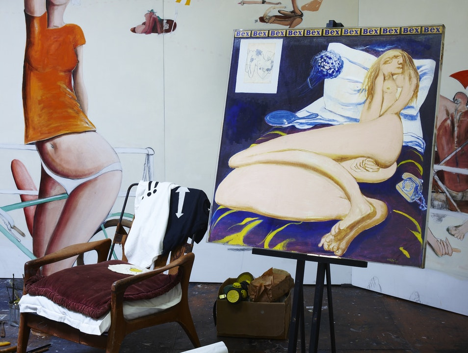 Brett Whiteley Studio, Sydney Surry Hills  Australia