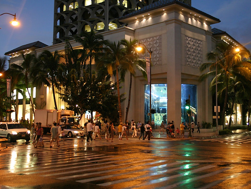 Duty-Free in the Heart of Waikiki Honolulu Hawaii United States