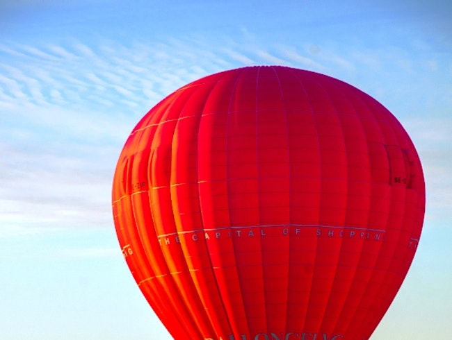 Hot Air Ballooning over Stockholm