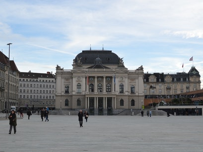 Zurich Opera House Zurich  Switzerland
