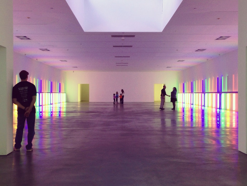 Dan Flavin's Installation Houston Texas United States