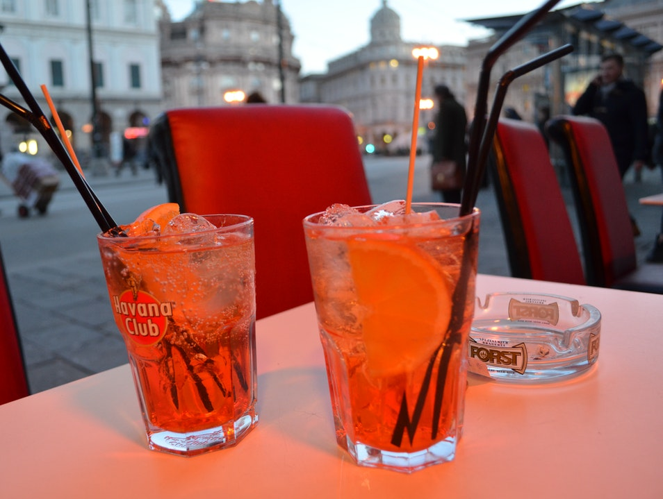 Dinner and a drink for 7 euros Genoa  Italy
