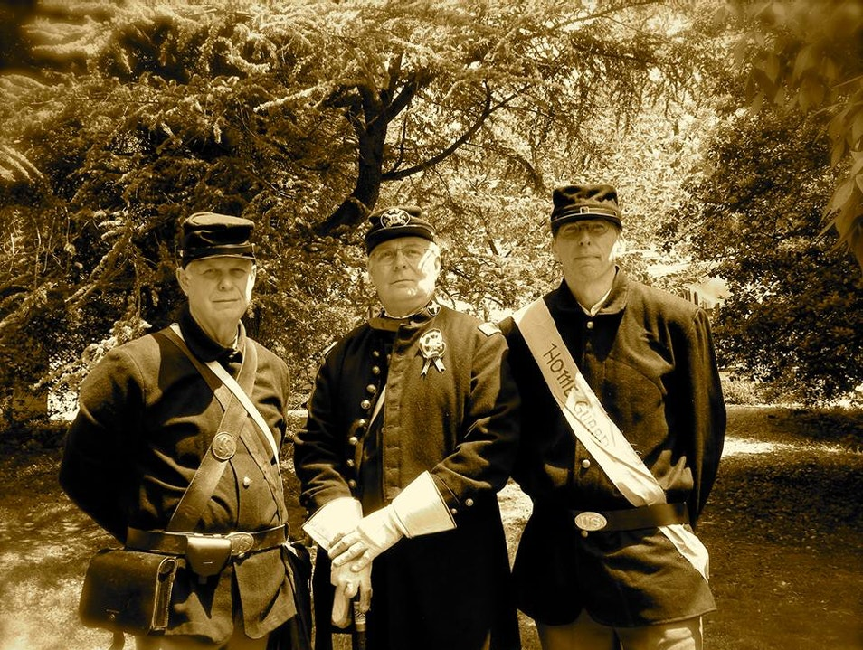 Travel Back in Time to the Civil War Falls Church Virginia United States