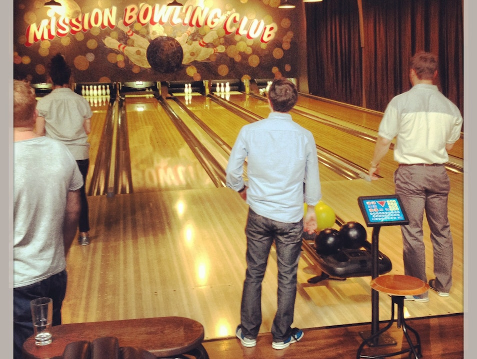 Burgers and Bowling in the Mission San Francisco California United States