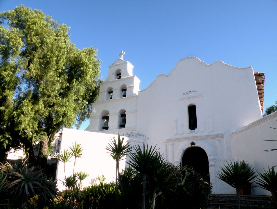 California's first Mission San Diego California United States