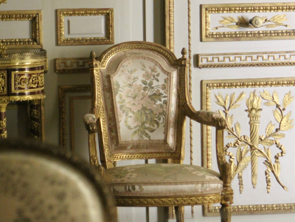 The MET's French room displays