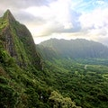 Nu'uanu Pali Lookout Kaneohe Hawaii United States