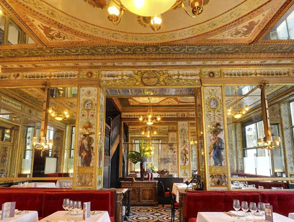 Gourmet Cuisine in a Jewel-Box Setting Paris  France