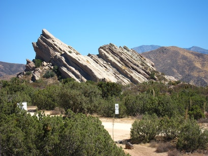 Vasquez Rocks Natura Area Park, USA Agua Dulce California United States