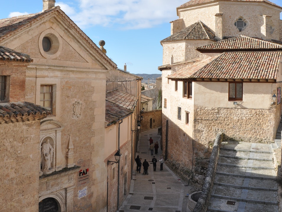 In Spanish lands, a Unesco World Heritage Site