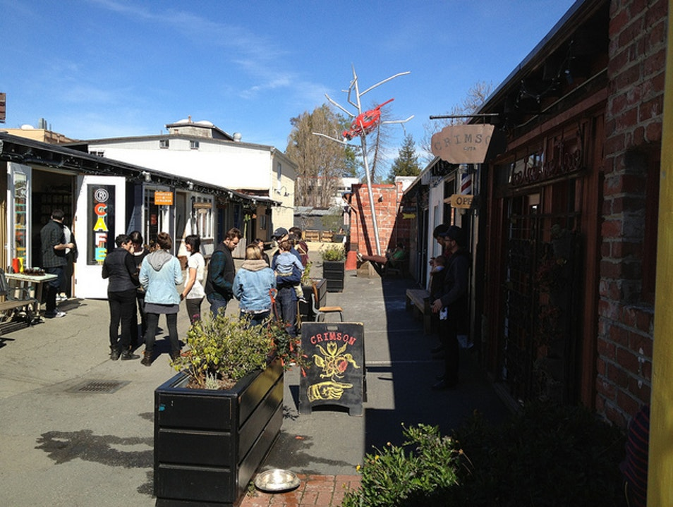 Shop for Local Goods and Food in Oakland's Temescal Alley Oakland California United States