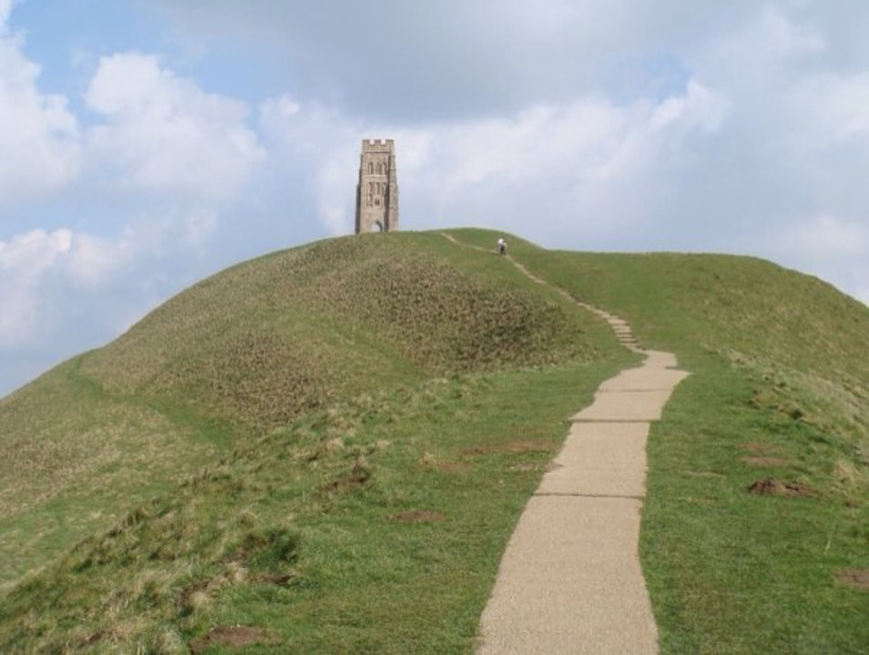 Lost - Remains Of Glastonbury's Observatory Glastonbury  United Kingdom