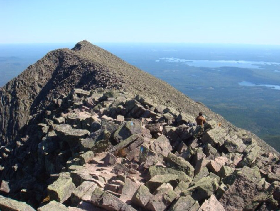 On Top Of The World - The Ridgeline Millinocket Maine United States