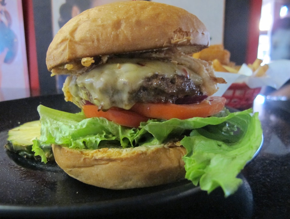 Dig In To The Best Burger on Maui