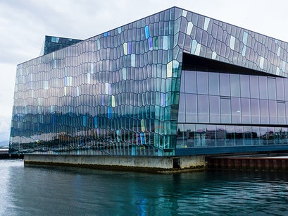 Harpa Concert Hall and Conference Centre Reykjavik  Iceland