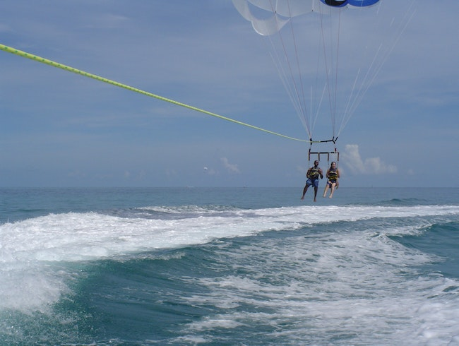 Parasailing, Jet Skiing and Snorkeling